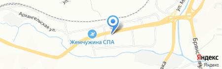 ЛенТа на карте Красноярска
