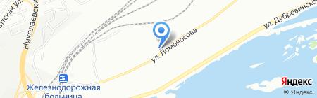 НГК-Сибирь на карте Красноярска