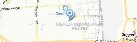 Маркпроект на карте Красноярска