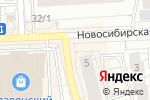 Схема проезда до компании Мёд Сибири в Красноярске