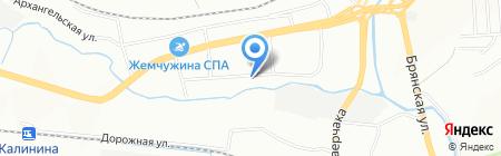 Краевой наркологический диспансер на карте Красноярска