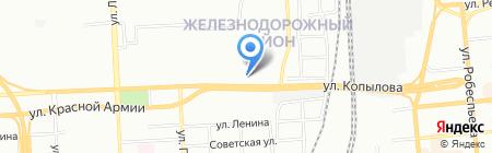 Медика-Восток на карте Красноярска