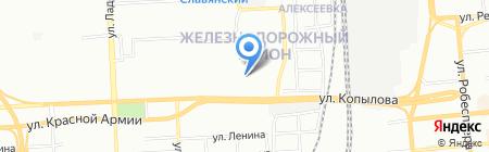Свой на карте Красноярска