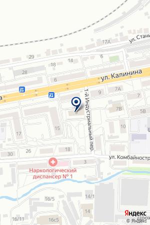 ТПК ЗОДЧИЙ на карте Красноярска
