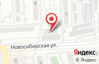 Схема проезда до компании Гранд Копирайт в Красноярске