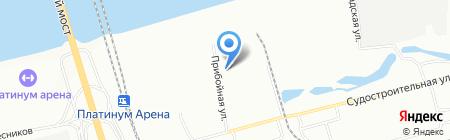 Сибкран на карте Красноярска
