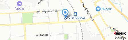 СВЕЖЕСТЬ на карте Красноярска