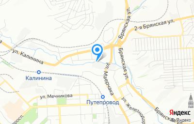 Местоположение на карте пункта техосмотра по адресу г Красноярск, ул Маерчака, д 53А стр 5