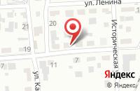 Схема проезда до компании АВТОШКОЛА РОСТО в Заозерном