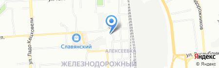 Новостройки на карте Красноярска