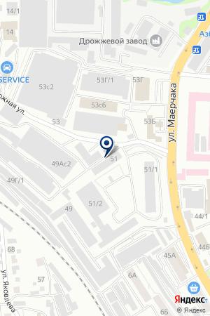 МастерПак на карте Красноярска