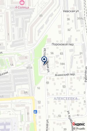Алмаз на карте Красноярска