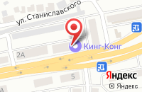 Схема проезда до компании Сбербанк в Тетюшском