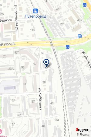 ИГАРСКАЯ СТИВИДОРНАЯ КОМПАНИЯ на карте Красноярска