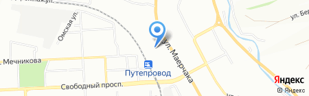АЛПЛАСТСТРОЙ на карте Красноярска
