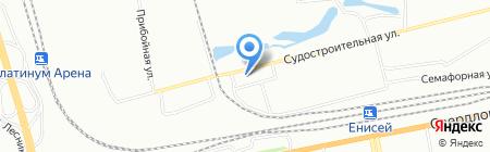 НеоМед на карте Красноярска