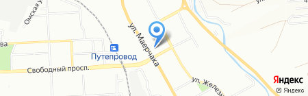 Джин Строй 888 на карте Красноярска