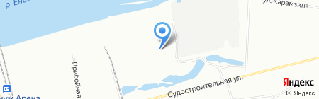 Autoguard на карте Красноярска