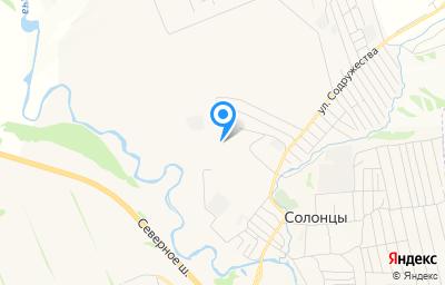 Местоположение на карте пункта техосмотра по адресу Красноярский край, Емельяновский р-н, п Солонцы, ул Новая, д 32