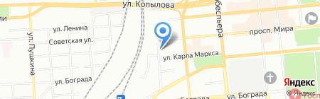 Серсо-Урал на карте Красноярска