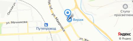 Красноярскэлектросетьстрой на карте Красноярска
