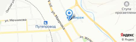 СЛИМ на карте Красноярска
