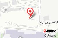 Схема проезда до компании Контракт-Плюс в Красноярске