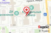 Схема проезда до компании Гаудэамус в Красноярске