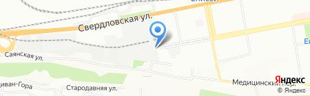 ПромТЭК на карте Красноярска