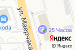 Схема проезда до компании ROSA в Солонцах