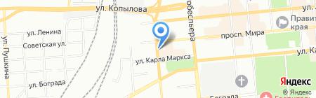 Шанс на карте Красноярска