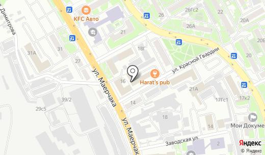 Персональный Сервис Инструмента. Схема проезда в Красноярске