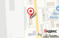 Схема проезда до компании Любимый Дом в Красноярске