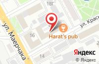 Схема проезда до компании Некоммерческий Фонд Поддержки и Развития Северных Территорий в Красноярске