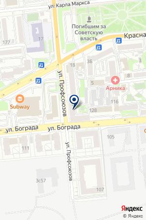 МАГАЗИН СИНКО-БЕСТ на карте Красноярска