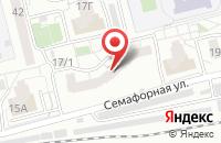 Схема проезда до компании Край в Красноярске