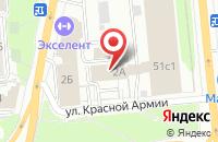 Схема проезда до компании Сибзнак в Красноярске