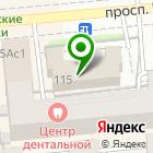 Местоположение компании Красноярскгорпроект