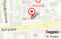 Схема проезда до компании Объемный Мир в Красноярске