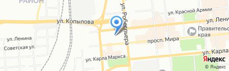 Космотерос-Космактив на карте Красноярска