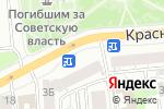 Схема проезда до компании Tele2 в Красноярске