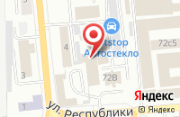 Схема проезда до компании Красноярье в Красноярске