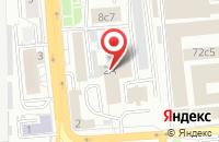 Схема проезда до компании Явор в Красноярске