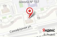 Схема проезда до компании Континент 24 в Красноярске