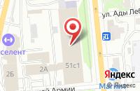 Схема проезда до компании Инвестиции Красноярья в Красноярске