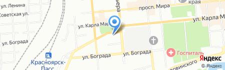 Лекарь на карте Красноярска