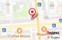Схема проезда до компании Движен в Красноярске