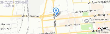 ПасПарТу на карте Красноярска