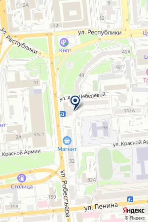 СЕТЬ МАГАЗИНОВ БЕСКОНЕЧНОЕ РАЗМНОЖЕНИЕ на карте Красноярска