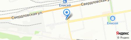 Бель Фам на карте Красноярска